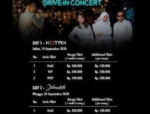 Jogja Drive-in Concert (19 & 20 September 2020)
