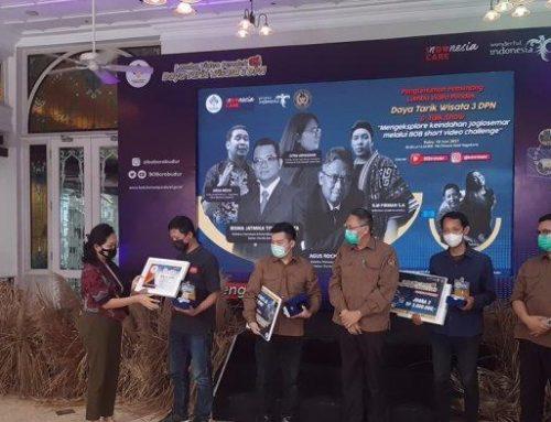 Badan Otorita Borobudur Serahkan Hadiah Lomba Video Pendek Destinasi Wisata Joglosemar